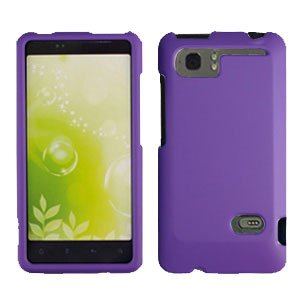 For HTC Vivid / Raider LTE 4G Cover Hard Phone Case Purple