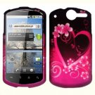 For Huawei ideos X5 / impulse U8800 Cover Hard Phone Case Love
