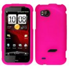 FOR HTC Rezound 4G Cover Hard Phone Case Rubberized H-Pink