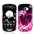 For Pantech Breakout Cover Hard Phone Case Love