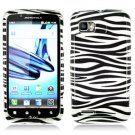 For Motorola Atrix 2 4G MB865 Cover Hard Case Zebra