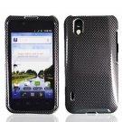 For LG Marquee LS855/ Optimus Black P970 Cover Hard Case Carbon Fiber