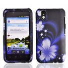 For LG Marquee LS855/ Optimus Black P970 Cover Hard Case B-Flower