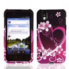 For LG Marquee LS855/ Optimus Black P970 Cover Hard Case Love