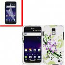 For AT&T Samsung Galaxy S II Skyrocket Cover Hard Case G-LiLy +Screen