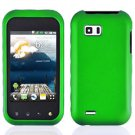 For LG MyTouch Q 4G Cover Hard Case Rubberized Green