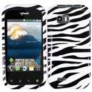 For LG Eclypse 4G Cover Hard Case Zebra
