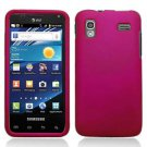 For Samsung Captivate Glide Cover Hard Case rubberized Rose Pink