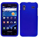 For Samsung Captivate Glide Cover Hard Case rubberized Blue