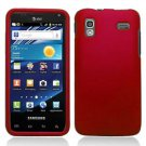 For Samsung Captivate Glide Cover Hard Case rubberized Red