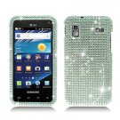 For Samsung Captivate Glide Cover Hard Phone Case Crystal Bling Clear