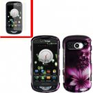 For Pantech Breakout 4G Cover Hard Case L-Flower +Screen 2-in-1