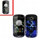 For Pantech Breakout 4G Cover Hard Case B-Skull +Screen 2-in-1