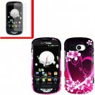 For Pantech Breakout 4G Cover Hard Case Love +Screen 2-in-1