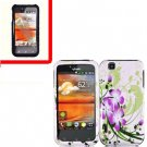 For LG MyTouch 4G / Optimus Sol Cover Hard Case G-Lily +Screen 2in1
