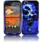 For LG Mytouch 4G / Optimus Sol Cover Hard Case B-Skull ( T-Mobile Mytouch )