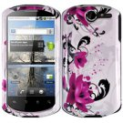 For Huawei ideos X5 / impulse U8800 Cover Hard Phone Case W-Flower