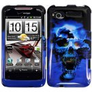 FOR HTC Radar Cover Hard Phone Case B-Skull