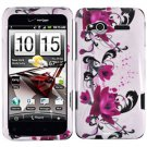 FOR HTC Radar Cover Hard Phone Case W-Flower