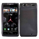 For Motorola Razr Cover Hard Case Carbon Fiber