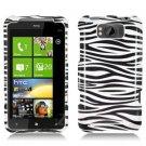 For HTC Titan Cover Hard Phone Case Zebra