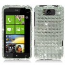 For HTC Titan Cover Hard Case Crystal Bling Clear