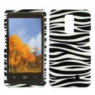 For Verizon LG Spectrum 4G Cover Hard Case Zebra