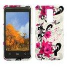 For Verizon LG Spectrum 4G Cover Hard Case W-Flower