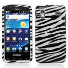 For Samsung Captivate Glide Cover Hard Case Zebra
