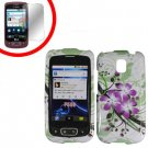For LG Optimus-T / P509 Hard Case G-Lily +Screen Protector  2-in-1