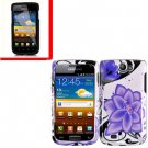 For Samsung Exhibit II 4G T679 Cover Hard Case V-Lily +Screen Protector