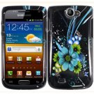 For Samsung Exhibit II 4G T679 Cover Hard Case M-Flower