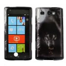 For Samsung Omnia W Cover Hard Case Wolf