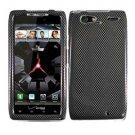 For Motorola Droid Razr Maxx Cover Hard Case Carbon Fiber