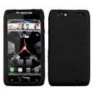 For Motorola Droid Razr Maxx Cover Hard Case Black