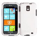 For Samsung Focus S Cover Hard Case White