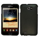 For Samsung Galaxy Note Cover Hard Carbon Fiber Case