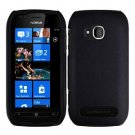 For Nokia Lumia 710 Cover Hard Black Case
