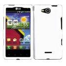 For Verizon LG Lucid 4G LTE Cover Hard Case White