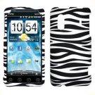 For HTC Hero S Cover Hard Phone Case Zebra
