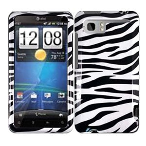 For HTC Vivid / Raider LTE 4G Cover Hard Phone Case Zebra