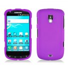 For Samsung Galaxy S Aviator Car Charger +Hard Case Purple Cover 3-in-1