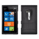 For Nokia Lumia 900 Hard Case Carbon Fiber Phone Cover +Screen 2-in-1