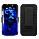 Phone Case For Samsung Galaxy S III Hard Cover B-Skull +Holster Belt Clip +Stand