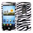Phone Case For LG Optimus LTE Hard Cover Zebra ( Nitro HD P935 / P930 )