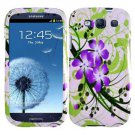 For Sprint Samsung Galaxy S III Hard Cover G-Lily Phone Case + Screen Protector 2-in-1