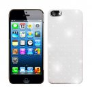 For Apple iPhone 5 / iphone5 Hard Case Brilliant Crystal White Phone Cover