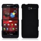 For Motorola Razr M Phone Case Black Hard Cover +Screen Protector XT907