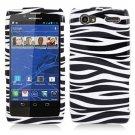 For Motorola Razr V Phone Case Zebra Hard Cover +Screen Protector XT886