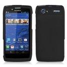For Motorola Razr V Phone Case Black Hard Cover XT885